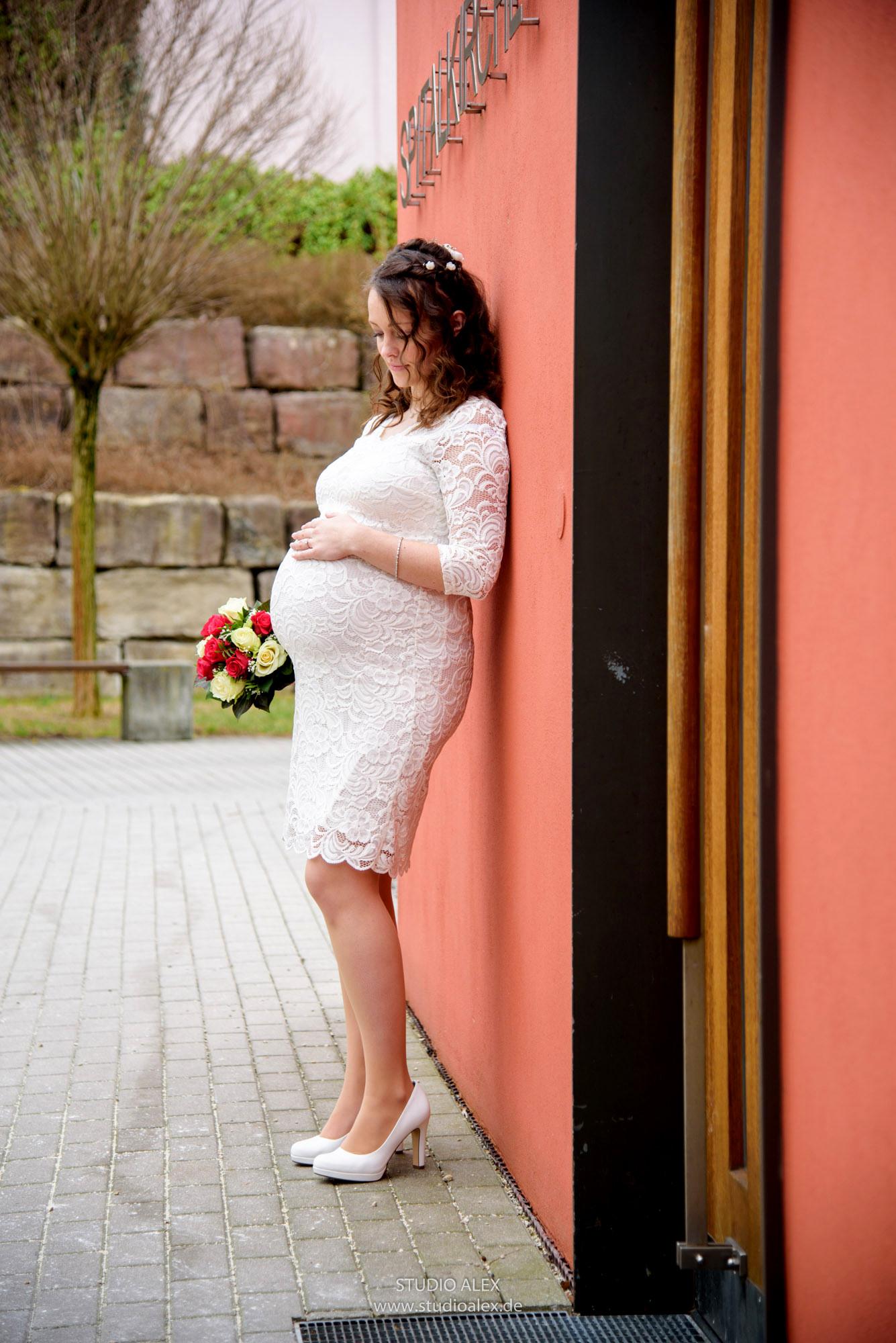 Hochzeitsbild von der Braut Nina aus Schwandorf
