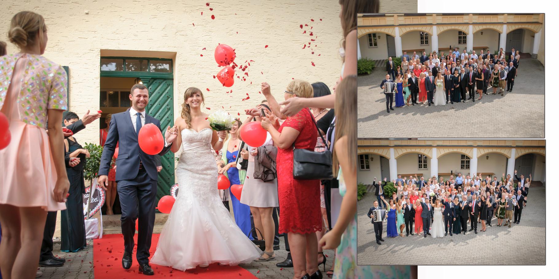 Hochzeitsreportage  in Schloss Guteneck