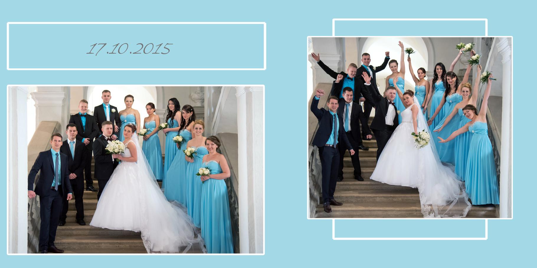 Bildbearbeitung für Hochzeitsbuch Ansbach