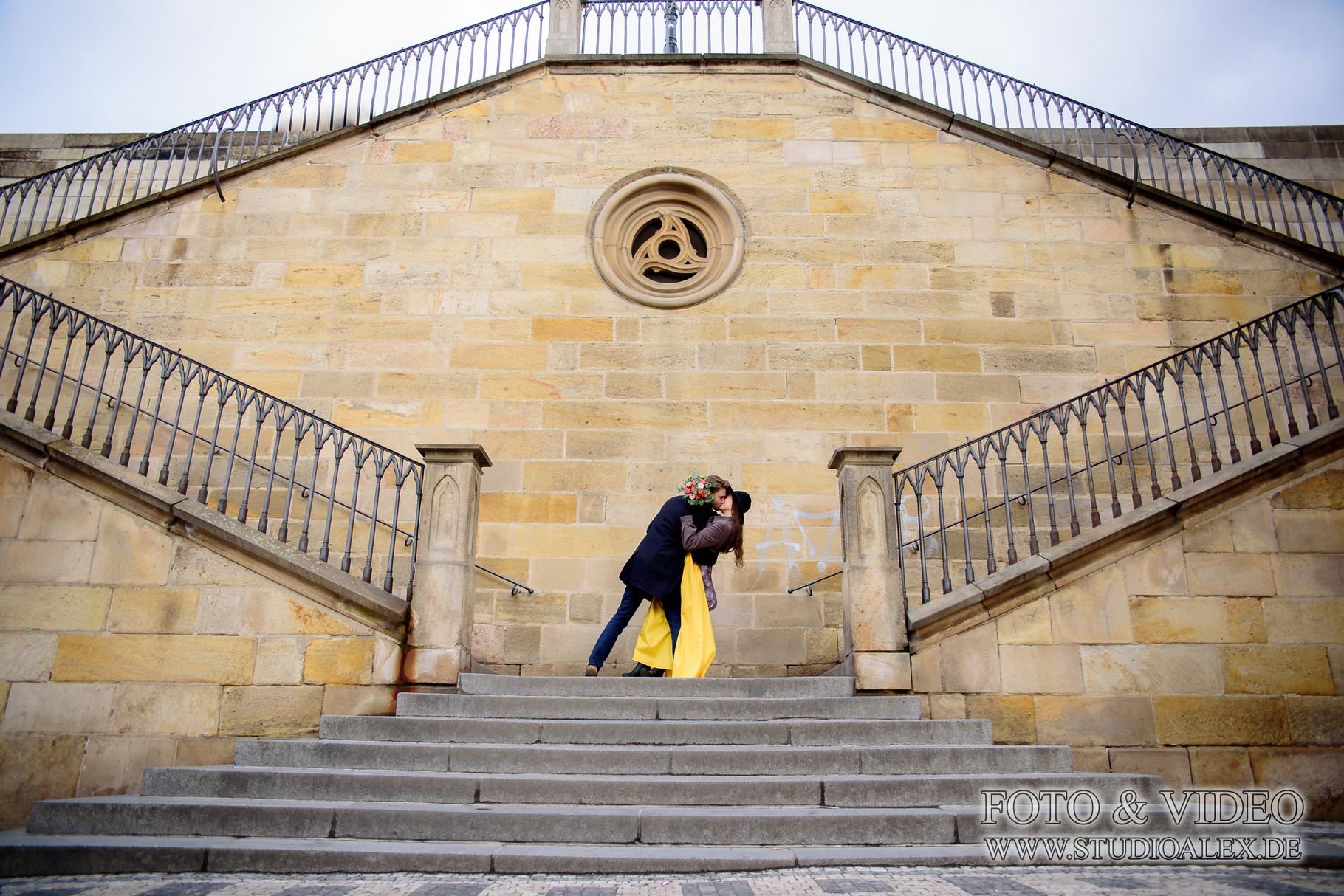 Fotoshooting in Prag