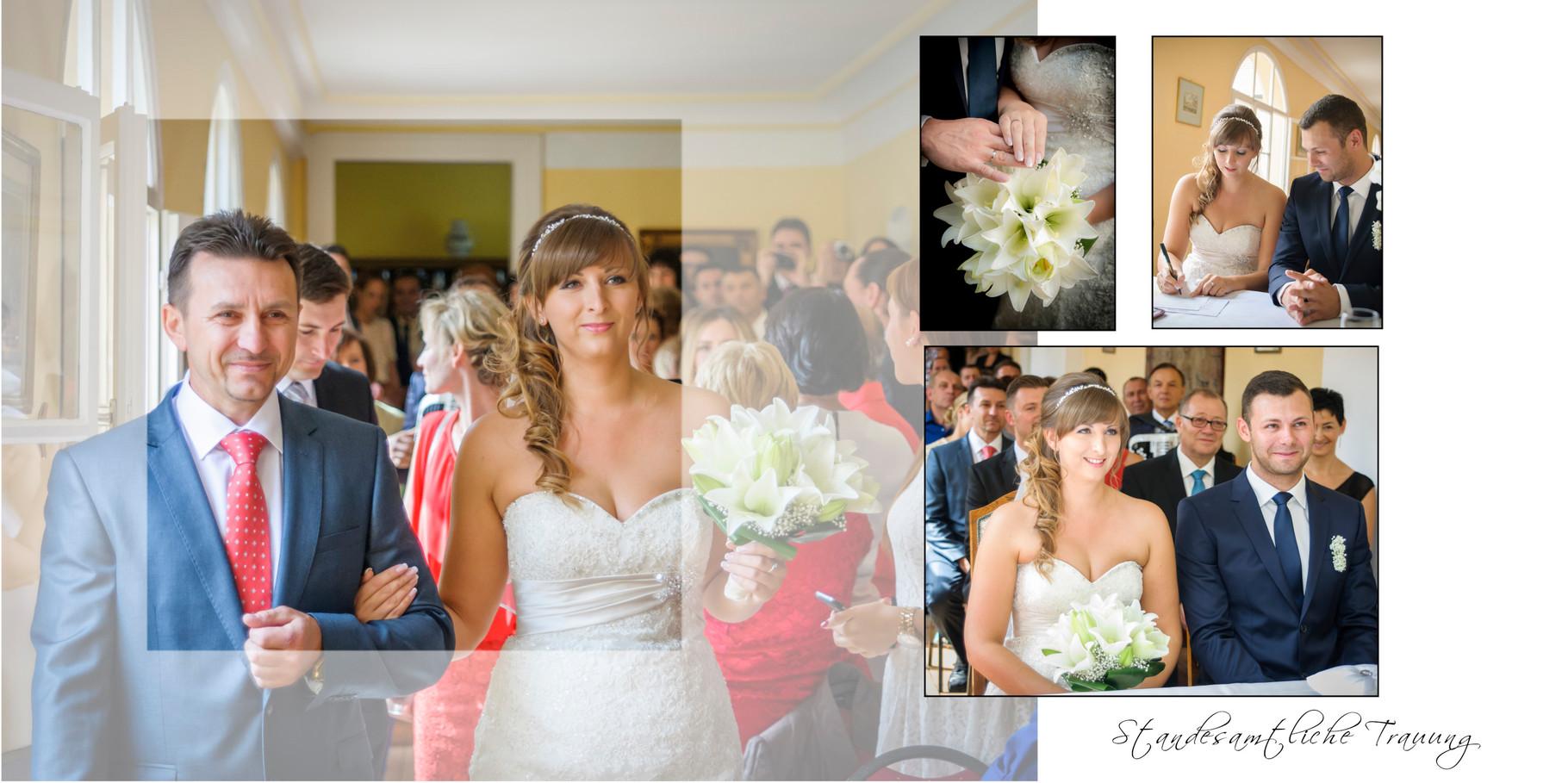Hochzeitsfotograf für standesamtliche Trauung in Schloss Guteneck
