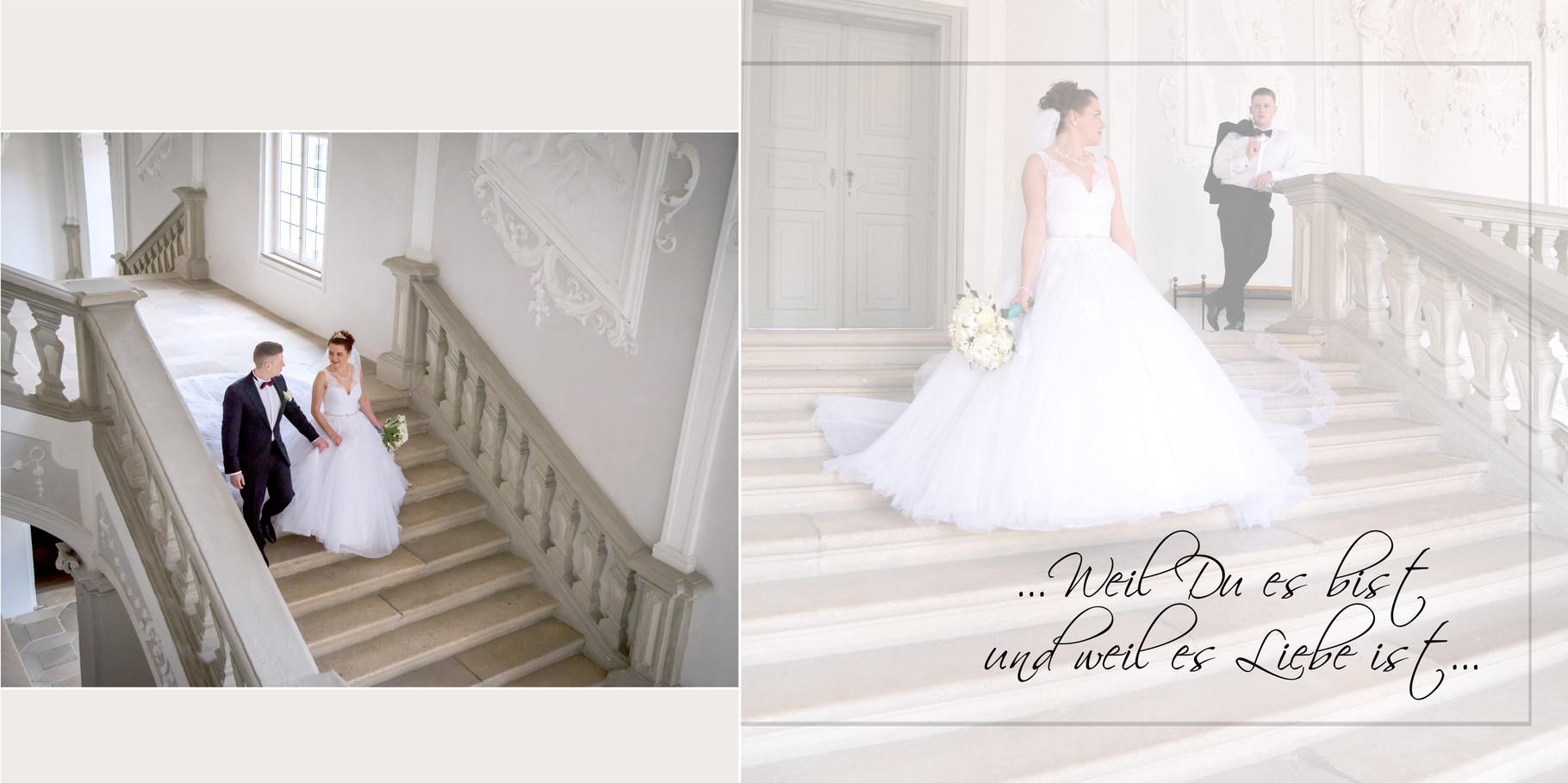 Fotobuch für russische Hochzeit in Ansbach