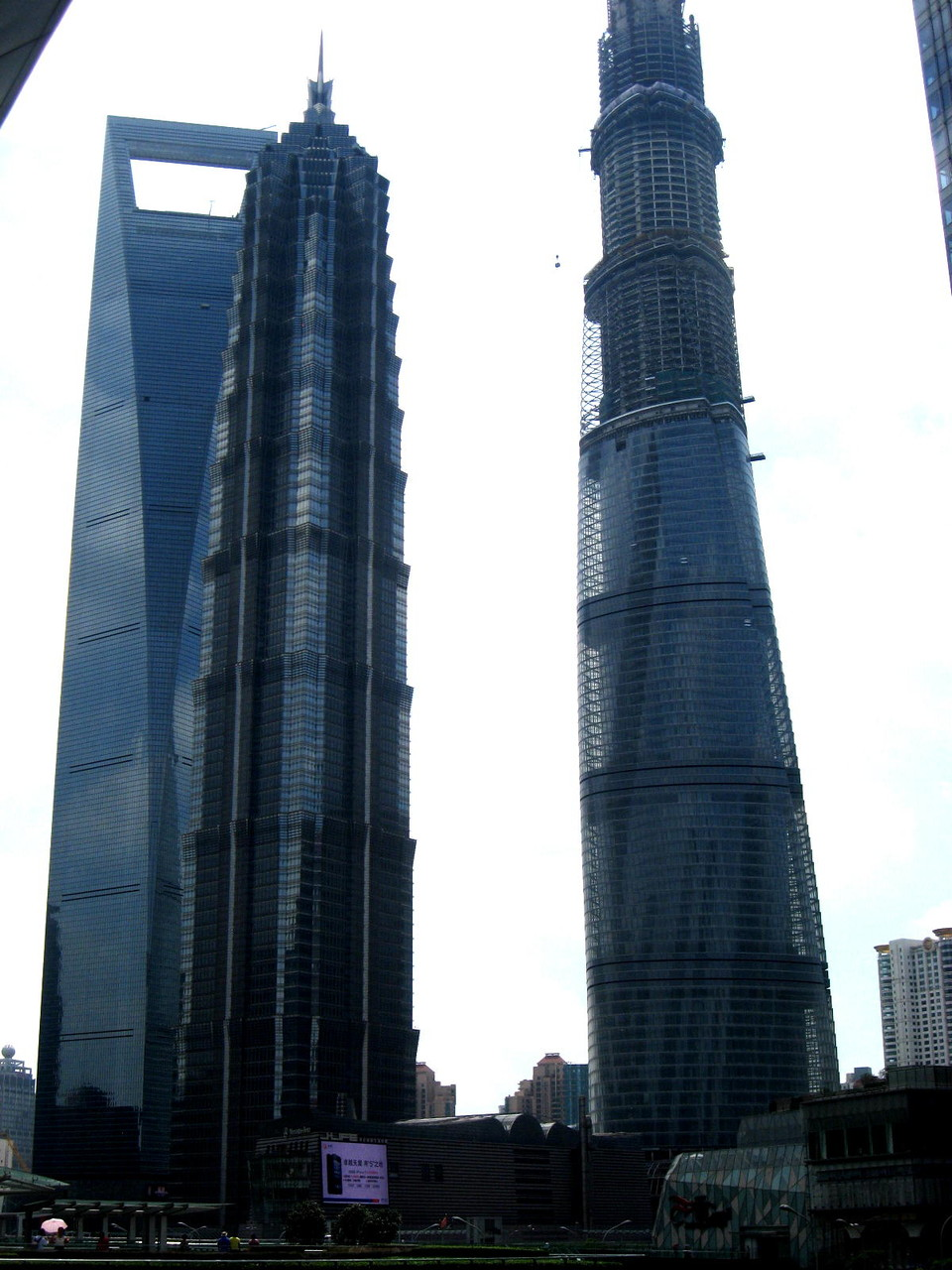Pudong Financial Worl Trade - Jin Mao , Shanghai Tower