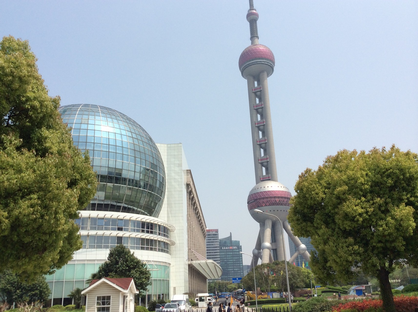 Pudong - International building & Pearl Tower