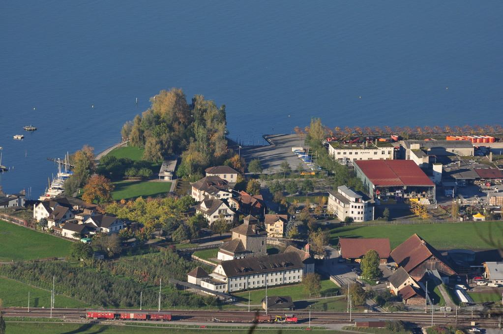 Blick von der Luegeten auf das Unterdorf