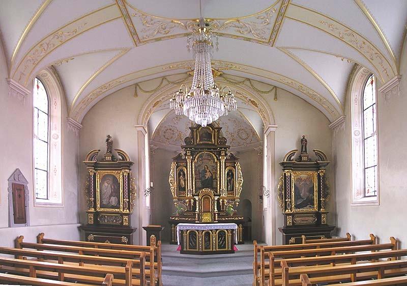 Innenraum der Schlosskapelle
