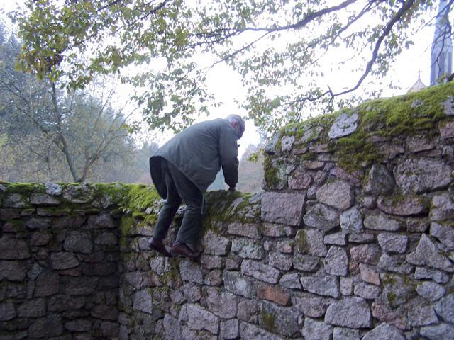 Vom Glück (religiöse) Mauern zu überwinden