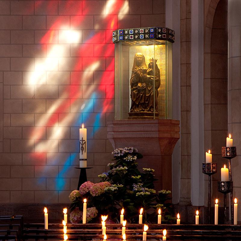 Fünf von acht Kirchen in der Pfarrei St. Johann sind weiterhin regelmäßig geöffnet