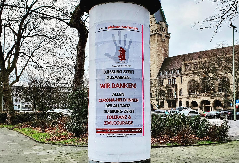 Duisburg steht zusammen für Demokratie und Solidarität