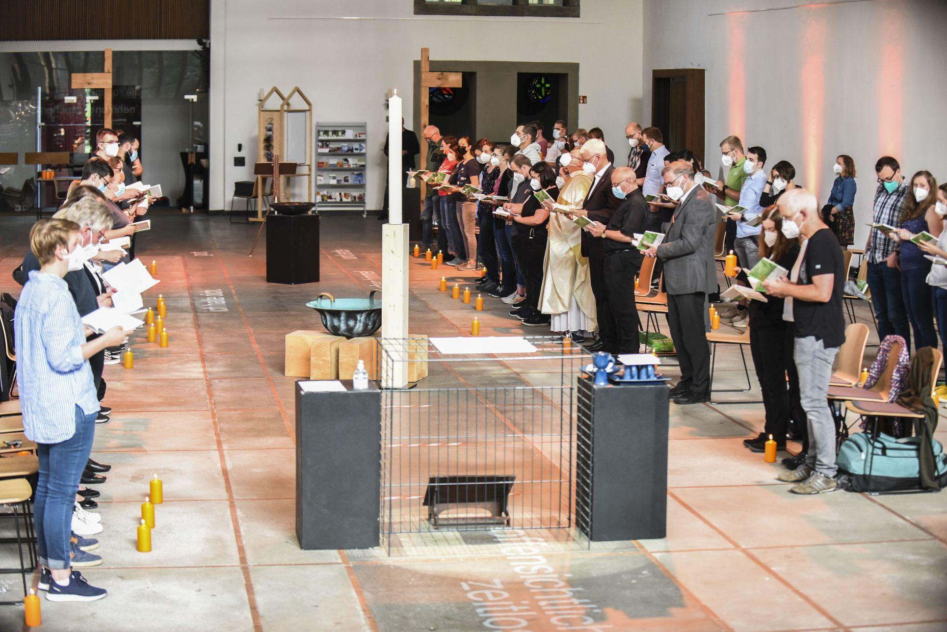 Jugendkirche Tabgha in Duisburg feierlich eröffnet