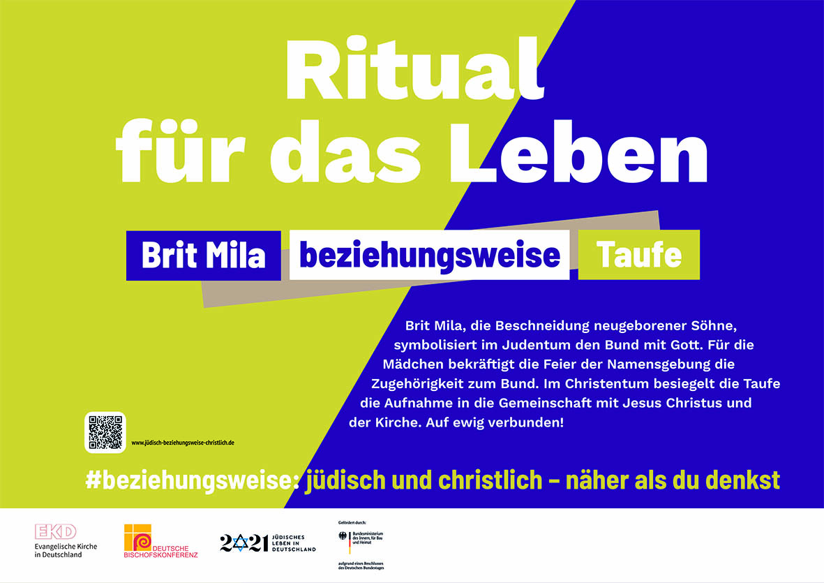 """Juden und Christen feiern gemeinsam """"1700 Jahre jüdisches Leben in Deutschland"""""""