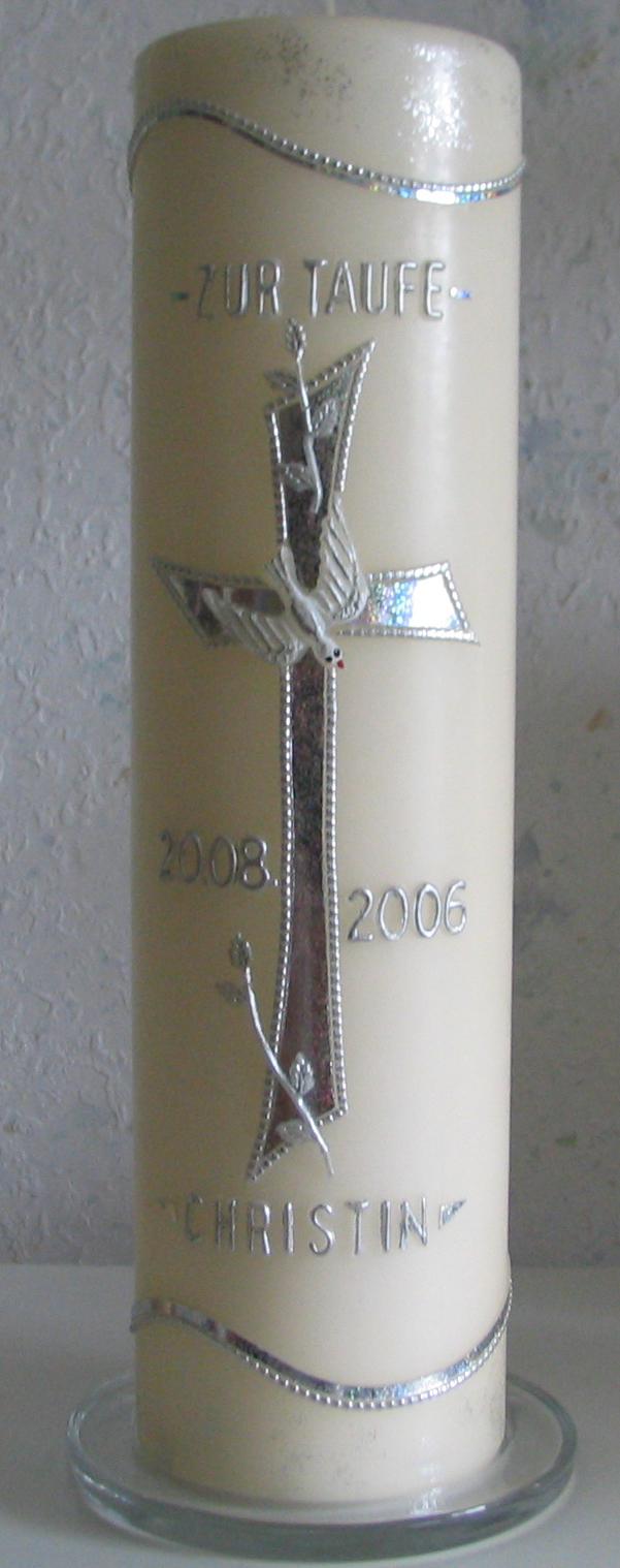 TR-4001, rund, d = 8 cm H = 30 cm, Preis ca. € 40,--