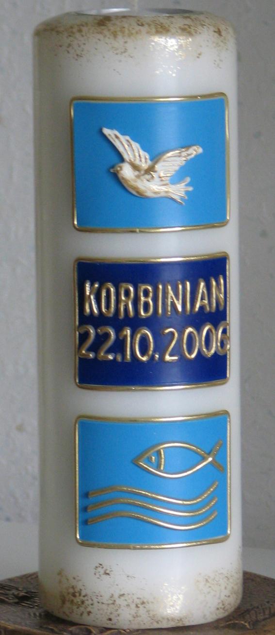 TR-4004, rund, d = 8 cm H = 21,5 cm, Preis ca. € 34,--
