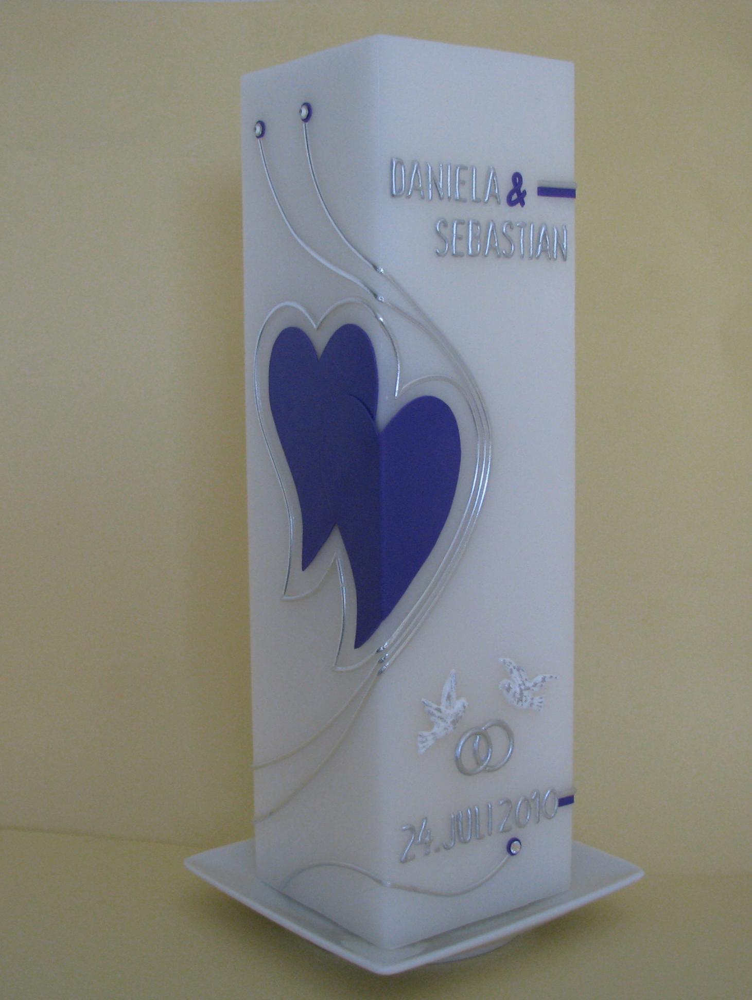 HE-0054, quadratisch, HxB ca 24 cm x 7,5 cm, Preis ca. € 39,--