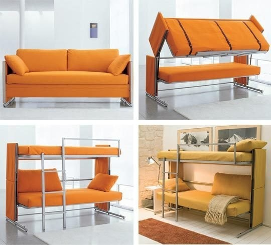 Мебель-трансформер, диван-двухъярусная кровать