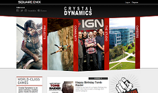 Site Officiel de Crystal Dynamics
