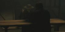 Le Père Patrick et Winston chez lui, à Connussie