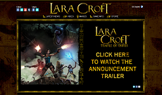 Site Officiel de Lara Croft