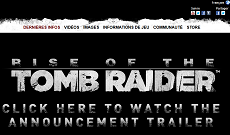 Site Officiel de Tomb Raider