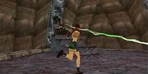 Elle doit se battre contre Puna pour récupérer la Dague d'Ora