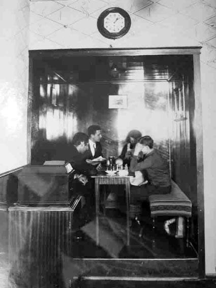 Das alte Cafe im Bairischen Hof