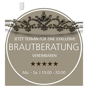 Terminvereinbarung für Bräute von Brautmoden Tegernsee