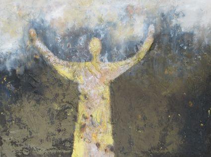 Von Gott gesandt. Ölgemälde auf Leinwand 80 cm x 60 cm. Als Original erhältlich.