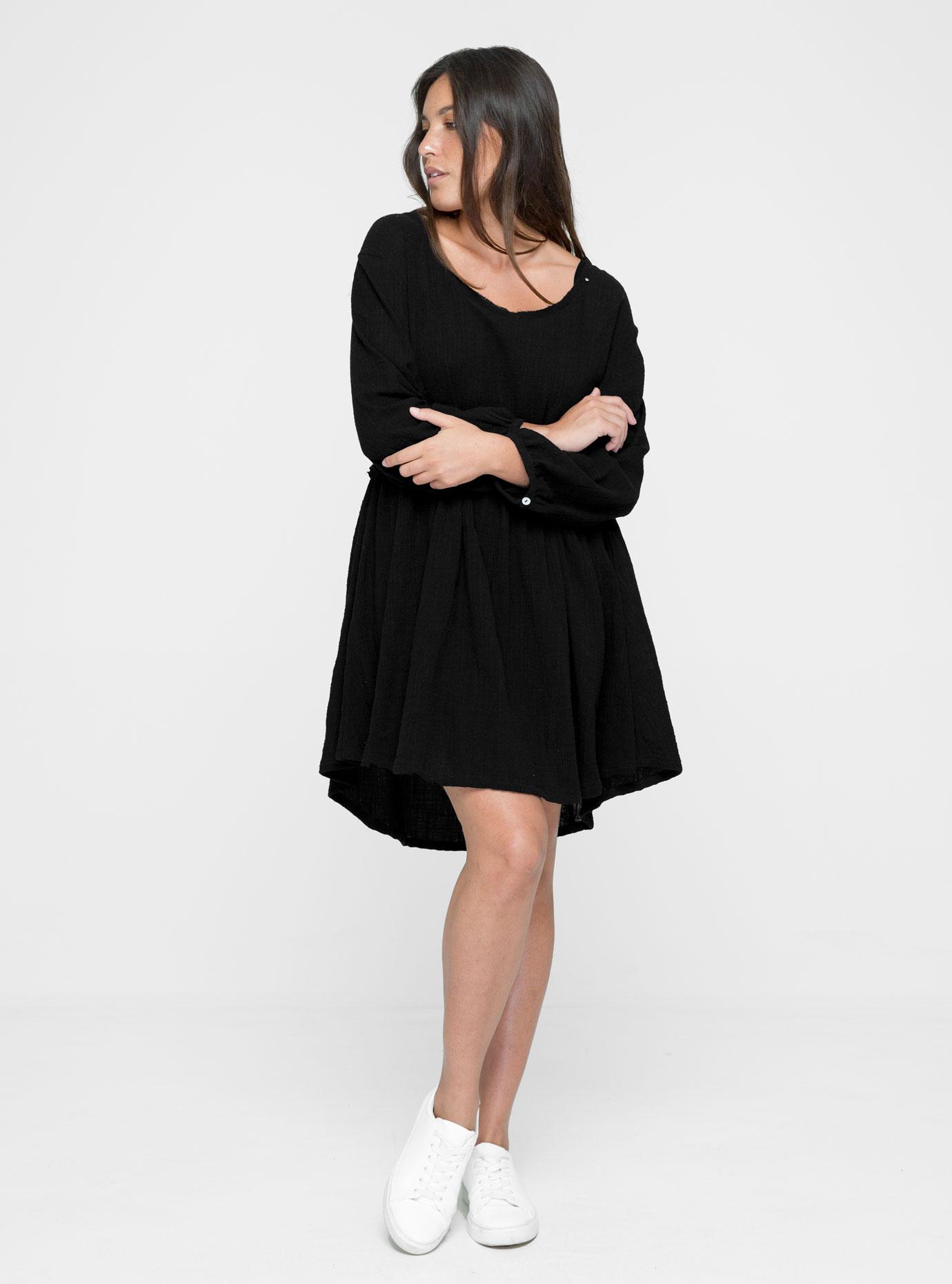 Armelle Mini Dress - Black