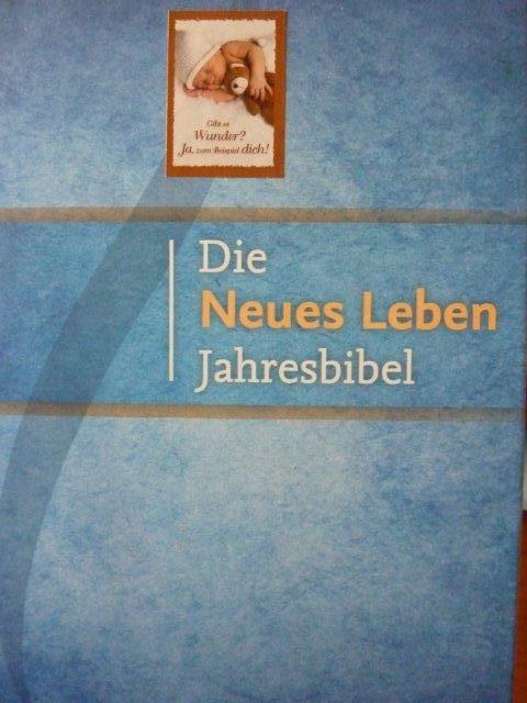 Jahresbibel, auch geeignet als Familienandacht