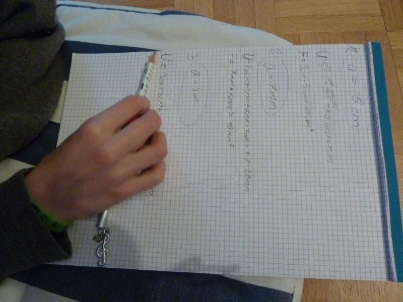 Aufschreiben, was wir herausgefunden haben