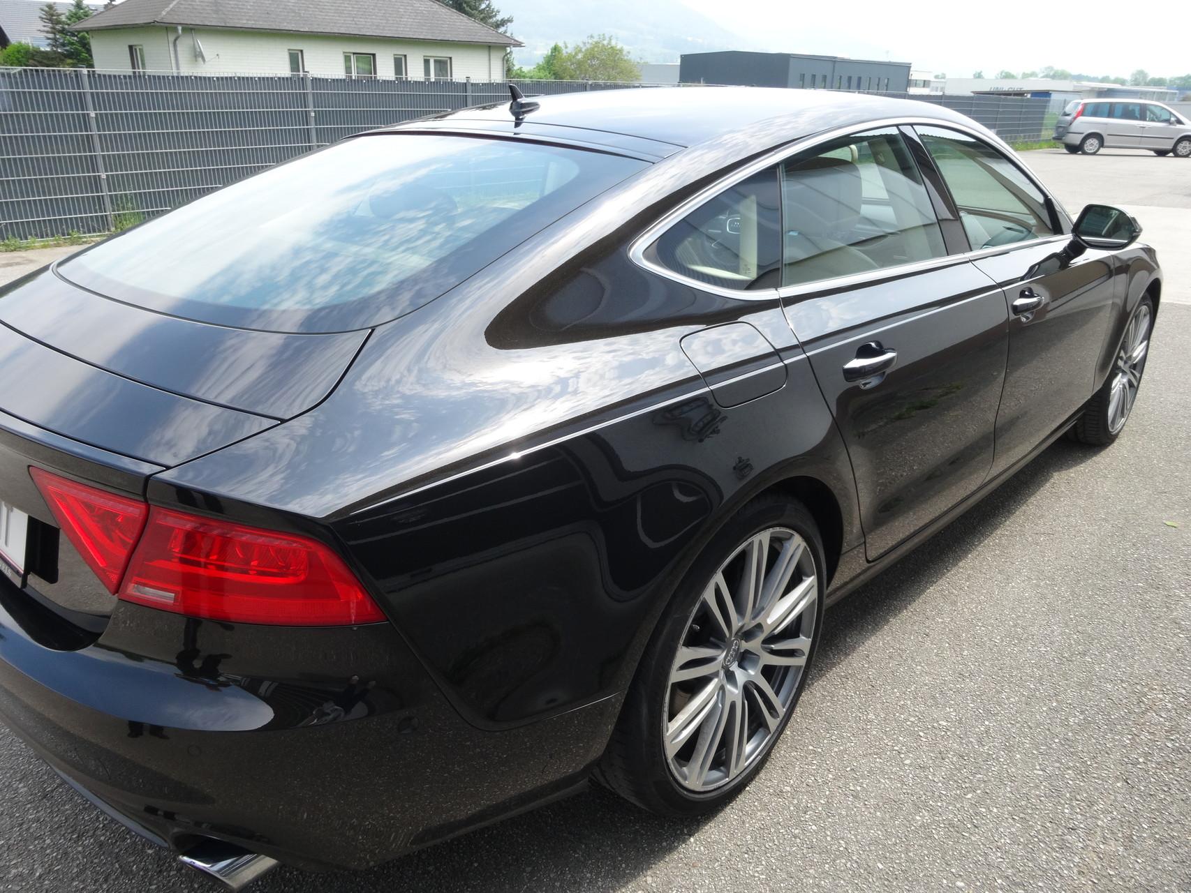 ein toller Audi - schöne Arbeit heute