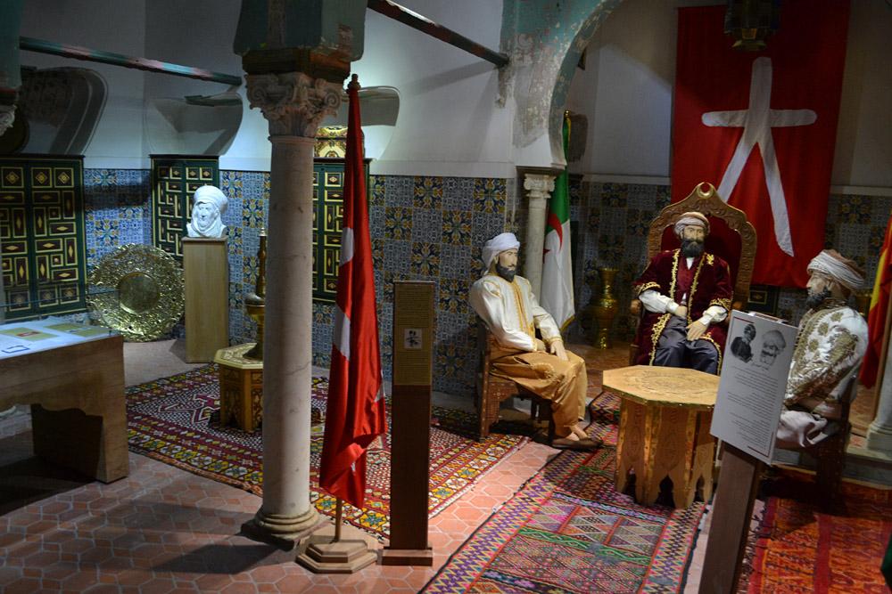 Aménagement Salle E diwan, Palais Ahmed Bey, Constantine 2014