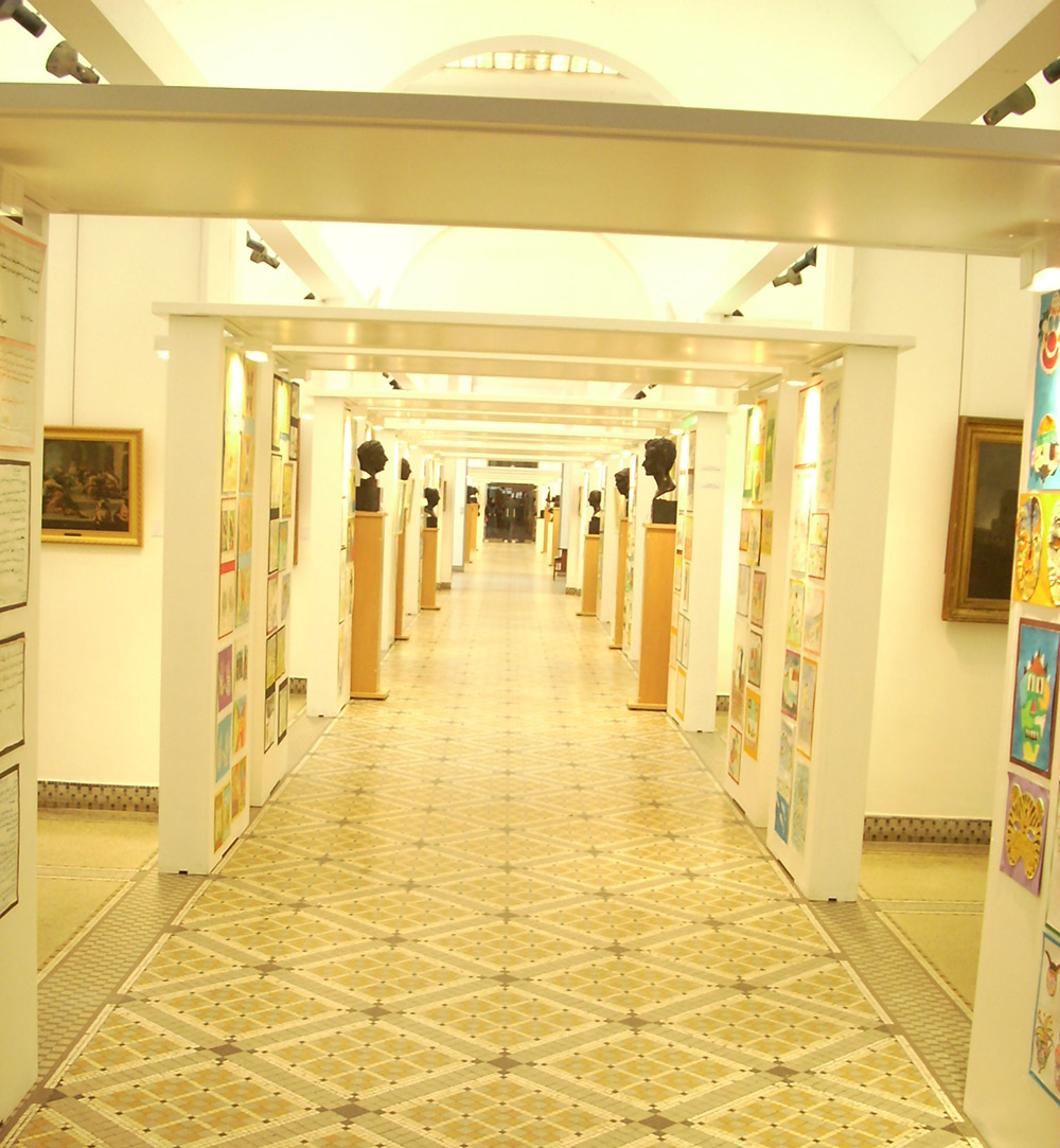 """""""20 ans des ateliers pédagogiques"""", Musée des beaux-art d'Alger, 2009"""