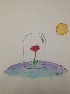 fiore sopravvissuto