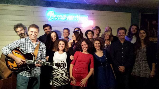 Singing Party allievi di Canto Naturale presso il Bonaventura Music Club