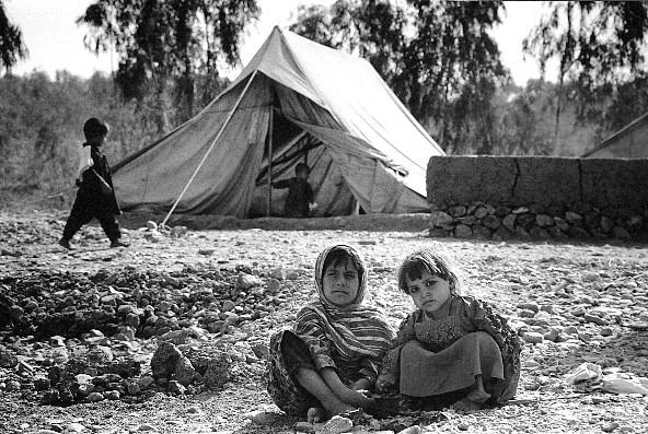 アフガニスタン 2001.11 空爆直後の難民キャンプ