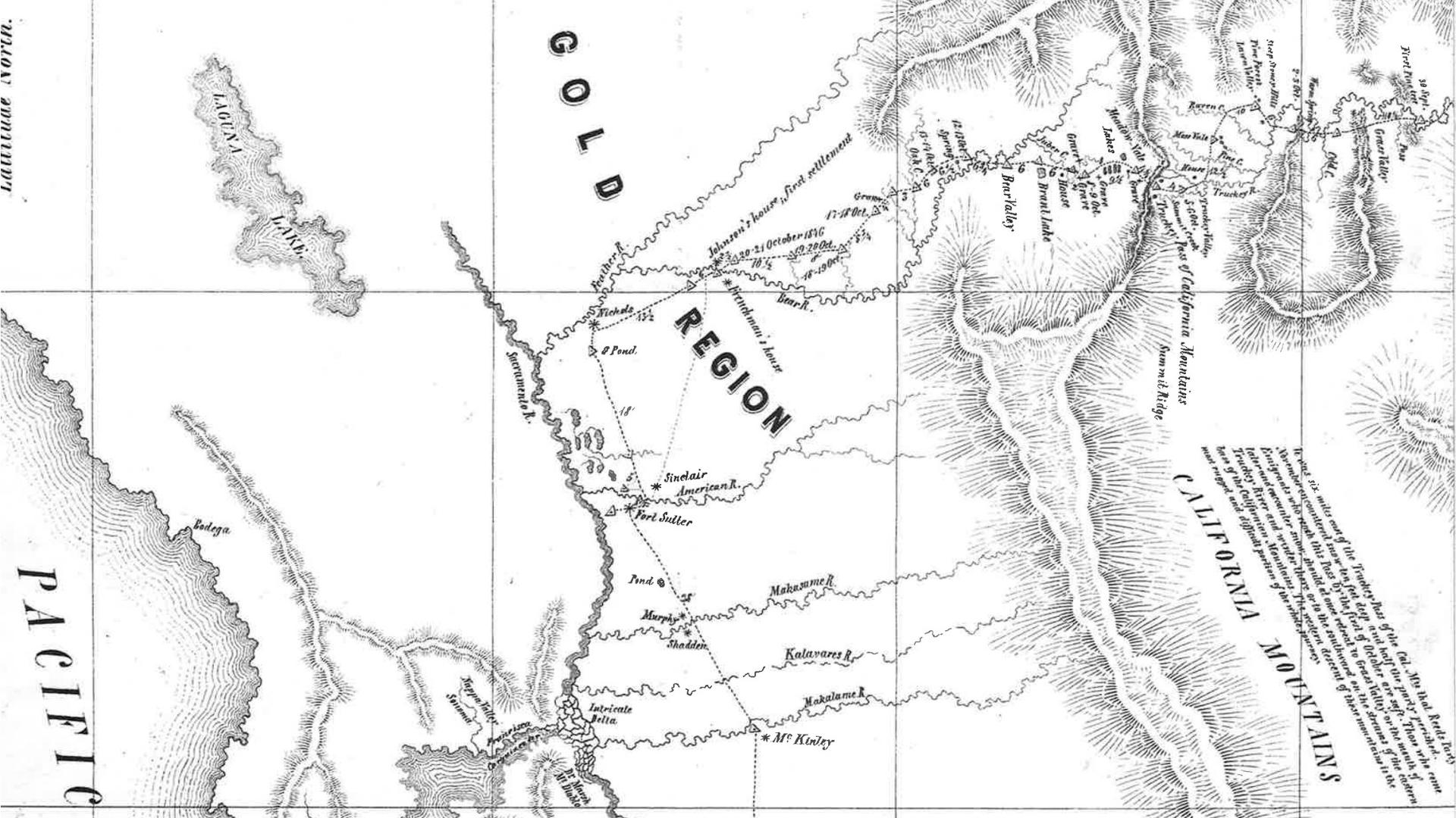 Kleine Quellenkritik zu ÜG#1: Die Emigrant Road ins Goldland