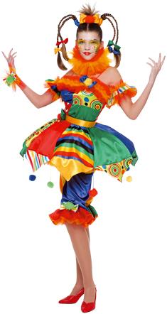 Die Verkleidungskiste Kostüm Frau Clown