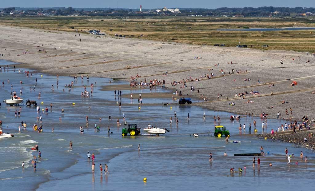 Plage de Ault Onival à marée basse