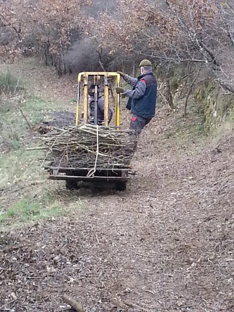 Vive  Denis et son petit tracteur
