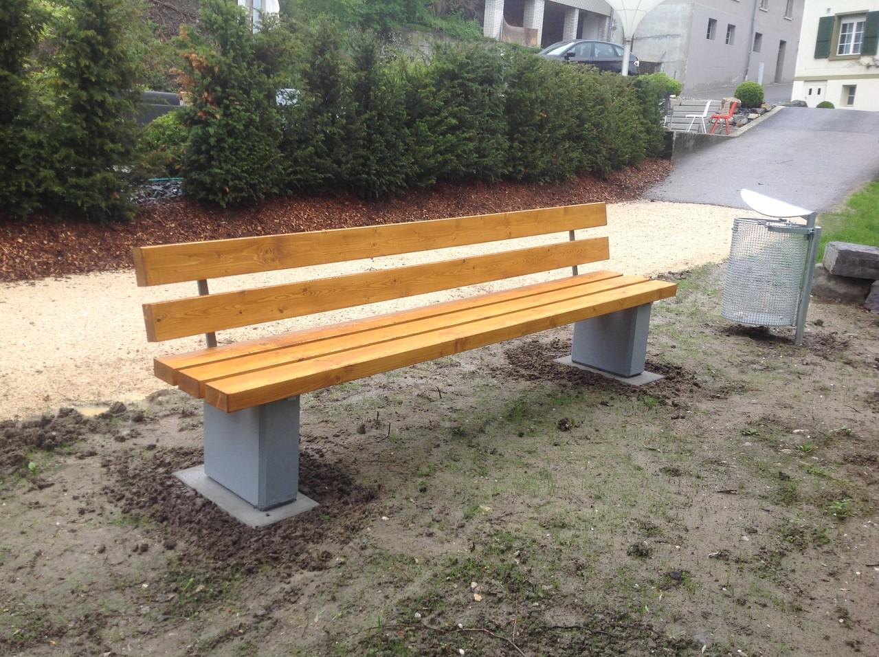 Aussengestaltung öffentlicher Raum
