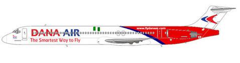 MD-83 der Dana Air/Courtesy: md80design
