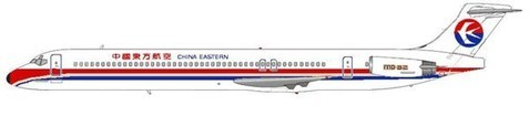 MD-82 im Farbkleid der China Eastern Airlines/Courtesy: MD-80.com