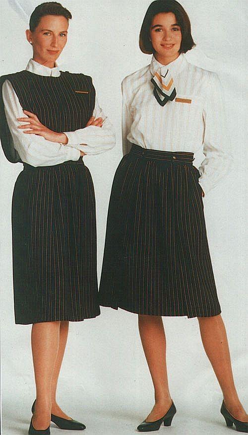 Ab 1989 für viele Jahre der Uniformstandard/Courtesy: Iberia