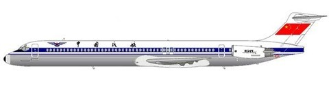 CAAC MD-82/Courtesy: md80design