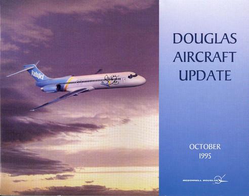 Glücksmomente! ValuJet bestellen 50 MD-95!/Courtesy: McDonnell Douglas