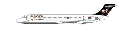 Air Burkina MD-87/Courtesy: md80design