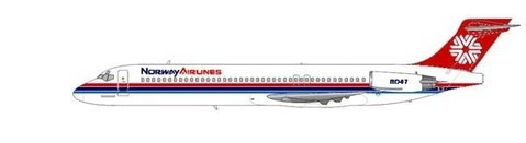 Norway Airlines MD-87/Courtesy: md80design