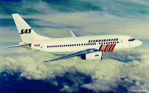 Erstkunde für die 737-600 - SAS/Courtesy: Boeing