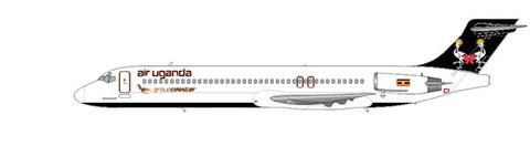 Drei MD-87 werden von Air Uganda betrieben/Courtesy: md80design